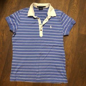 Ralph Lauren Golf | Classic Polo | Striped | M